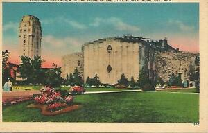 ag(V) Tower and Church of the Shrine of the Little Flower, Royal Oak, Michigan