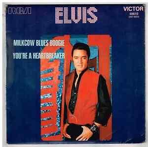 """Elvis  PRESLEY     Milkcow blues boogie      7"""" 45 Tours SP"""