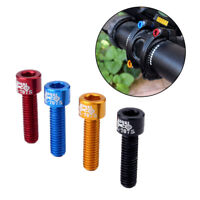 GT- JT_ 4Pcs Aluminum Alloy MTB Mountain Bike Bicycle Headset Stem Bolts Screws