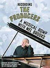 Recording the Producers - A Musical Romp with Mel Brooks (DVD, 2001) NEW!