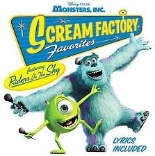 Monsters, Inc. Scream Factory Favorites by Disney/Riders in the Sky (CD, 676