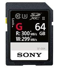 Sony Sf-g64 SDXC Class 10 Uhs-ii U3 (z1j)
