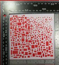 Plantilla de grabación en relieve piedra decoración geométrica Flor Cardmaking tinta aerógrafo Pintura #3