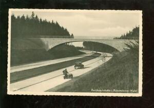 Ak Reichsautobahn im Rabensteiner Wald