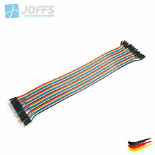 40 x 30cm - MALE zu FEMALE - Jumper Kabel - Dupont Cable - Breadboard Wire
