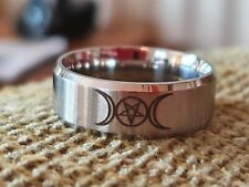 Crowley magick ring. Size 10
