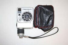 CANON Dial 35 Silver SE 28MM 1:28 Lens Vintage Camera w Strap & Soft Case