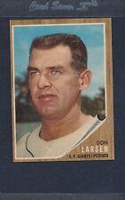 1962 Topps #033 Don Larsen Giants EX *1484