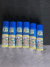 6x 200ml Household Flea Killer Spray Aerosol Animal Flea Dog Cat Tick Protection
