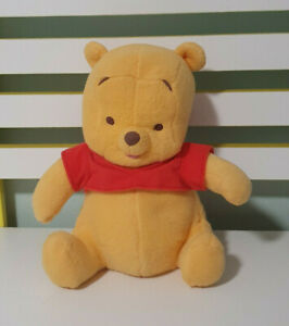 WINNIE THE POOH PLUSH TOY CHARACTER TOY DISNEY 24CM FISHER PRICE BABY POOH 2002