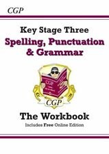 Spelling, Punctuation and Grammar for KS3 - Workbook NEUF CGP Books