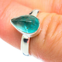 Blue Fluorite 925 Sterling Silver Ring Size 6.25 Ana Co Jewelry R52470F