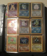 COMPLETE BASE SET POKEMON CARDS 102/102 IN EXC/NEAR MINT CONDITION *BEST PRICE*