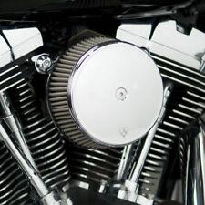 Arlen Ness Big Sucker Air Cleaner Syn. Filter 1999-2017 Harley Twin Cam Chrome