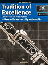 Tradition Of Excellence-Clarinet Music Book/Internet Access-Level 2 New On Sale!