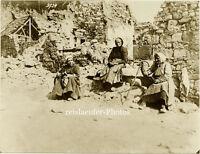 Gr. Pressephoto, 1. Weltkrieg. Paissy, um 1916