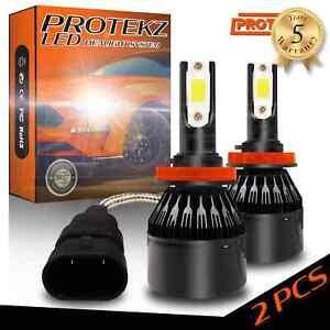 Protekz LED Fog Light Kit 880 6000K Bulbs for 1997-2005 Chevrolet VENTURE