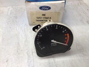 1984-1990 Ford Escort 1.9L OEM Tachometer Gauge E4FZ-17360-A