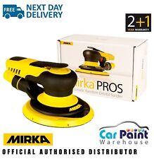 """Mirka PROS Pneumatic Air Orbital Palm Sander 150mm 6"""" 650CV 5.0mm Orbit"""