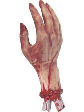 Réaliste Coupée Bloody Main Gore Horreur Fête Halloween Décoration de Prop 30cm