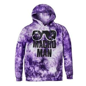 """Official WWE Authentic Macho Man Randy Savage """"Sunglasses"""" Pullover Hoodie"""