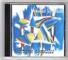 (GZ728) Aardvark Jazz Orchestra, American Agonstes - 2007 CD