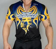 MEN'S USED Zip Short Sleeve Cycling Jersey Size SMALL
