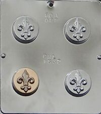 Fleur de Lis Chocolate Oreo Cookie Mold  1632 NEW