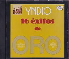 Grupo Yndio 16 Exitos de Oro CD New Nuevo Sealed
