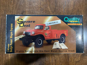 Square Deal 1:30 Scale Dodge Power Wagon Express