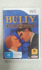 Bully Scholarship Edition Nintendo Wii PAL Version