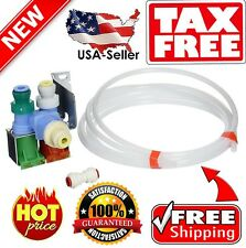 Refrigerator Water Inlet Valve Kit Dual Coil for Whirlpool KitchenAid W10408179