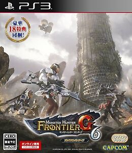 PS3 Monster Hunter Frontier G6 Premium Package from Japan