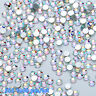 Flat Back Nail Art Rhinestones Glitter Diamond Gems 3D Tips DIY Decoration 1 BAG