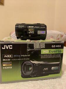 JVC HD-HD3 3CCD Full HD 60GB Camcorder