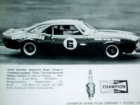 1968 CAMARO MARK DONOHUE PENSKE/SUNOCO ORIGINAL AD *Z28/SS/RS/hood/scoop/wheels