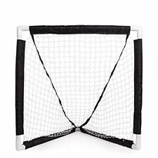 Champion Sports Mini Lacrosse Goal: Kids Gear Backyard Shooting Practice Net