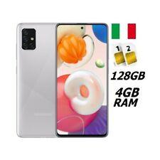 SAMSUNG GALAXY A51 DUAL SIM SM- A515 DS 128GB RAM 4GB SILVER ITALIA NO BRAND