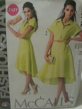 M6742 McCall's Plus Women's NBC Fashion Star Easy Sewing Patterns Sizes 16-24