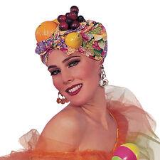 Ladies Carmen Miranda Trpoical Fruit Hat Fancy Dress Costume Accessory Prop