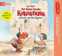 PHILIPP SCHEPMANN - KLEINE DRACHE KOKOSNUSS ERFORSCHT ALTES ÄGYPTEN   CD NEU