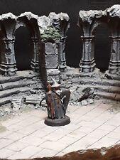 LOTR Hobbit Warhammer Rivendell Pose Gandalf OOP Metal Miniature