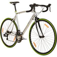 Fahrrad 28 Zoll Rennrad Vuelta Sti Shimano Bike Galano 62 cm Grau / Grün B-Ware