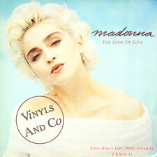 """MADONNA - The Look Of Love [4'03] Love Don't Live Here Anymore [4'45] Vinyl 12"""""""