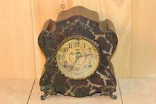 """Antique Ingraham """"The Boos"""" Mantle Clock *Very Fancy*"""