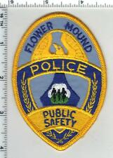 Flower Mound Puplic Safety (Texas) 1st Issue Shoulder Patch