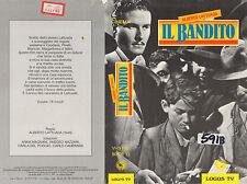 Il Bandito (1946) VHS Logos TV   Amedeo Nazzari