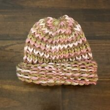Handmade Knitted Pink Camo Newborn /Baby Hat,Baby Girl Hat,Shower Gift