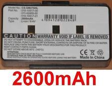 Batería 2600mAh 010-10517-00 010-10517-01 011-00955-00 Para Garmin GPSMAP 276C