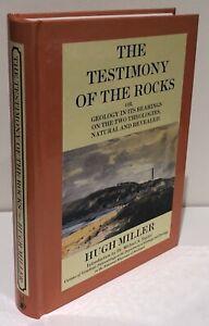 NEW Testimony of Rocks Geology in Bearings on Two Theologies Hugh Miller 2001 hb